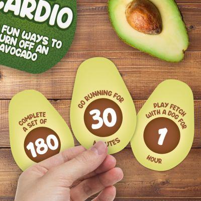 Avocardio 100 Fitness-Ideen für eine Avocado
