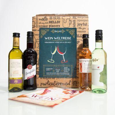 Wein-Weltreise in 9 Flaschen