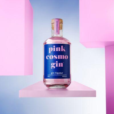 Pink Cosmopolitan Gin-Likör