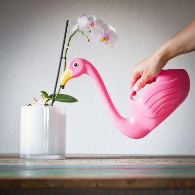 Flamingo Gießkanne
