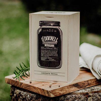 O'Donnell Moonshine Feuerwasser Grill-Edition