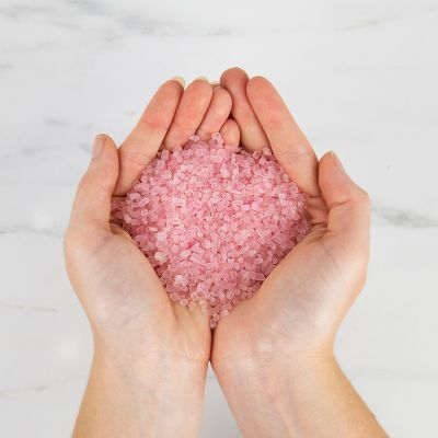 Geschenke für Frauen wohltuende Badekristalle