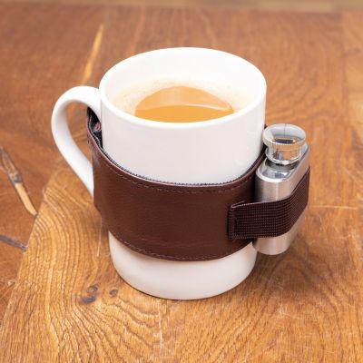 Kaffeetasse mit Schuss