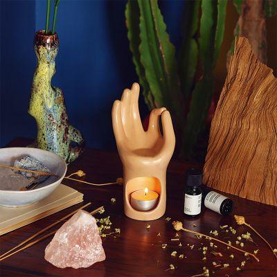 Om Yoga-Hand Duftlampe