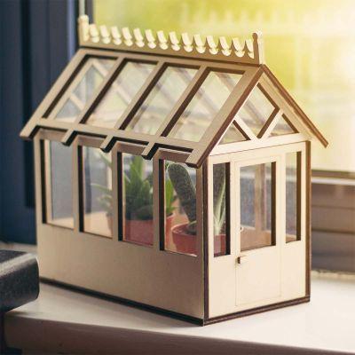 Weihnachtsgeschenke für Frauen Mini-Haus für Pflanzen