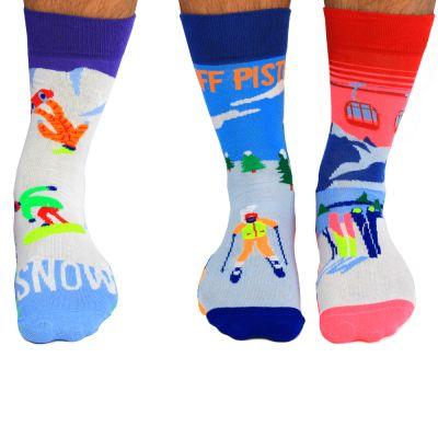 Skifahrer-Socken