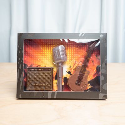 Rock & Roll Schokolade-Set