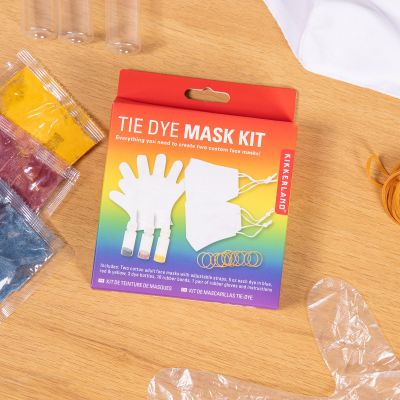 Gesichtsmasken-Set zum Selbstgestalten