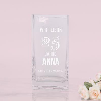 Vase zum Geburtstag