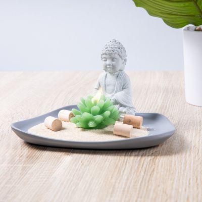 Buddha auf dem Teller