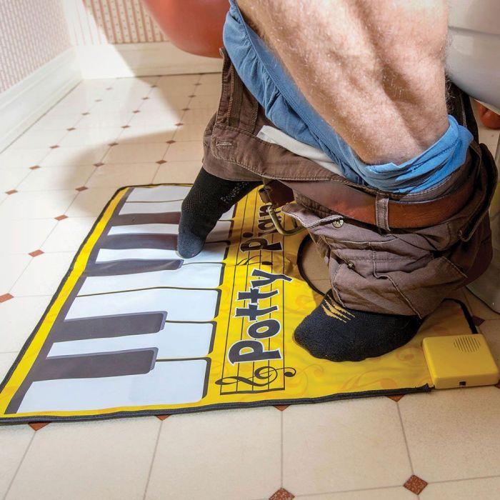 WC Klavier-Vorleger