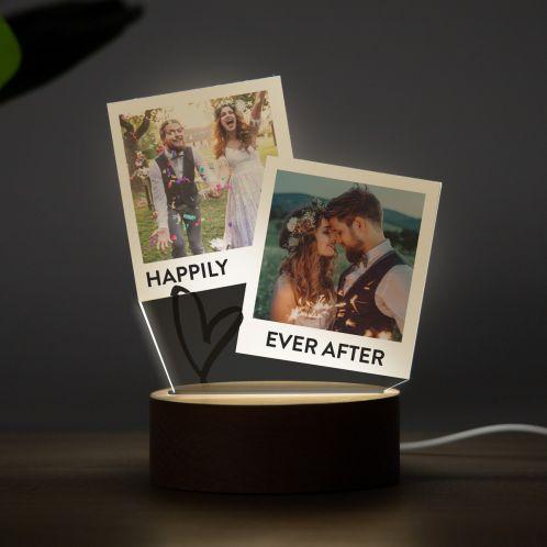 LED-Leuchte im Polaroid-Design