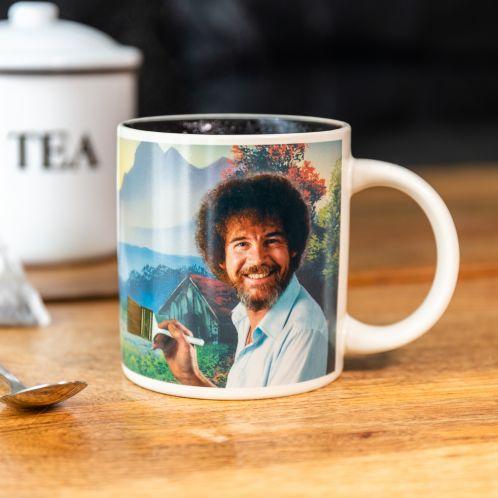 Bob Ross Wärmeempfindliche Tasse