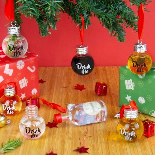 Likör Weihnachtsbaum-Kugeln