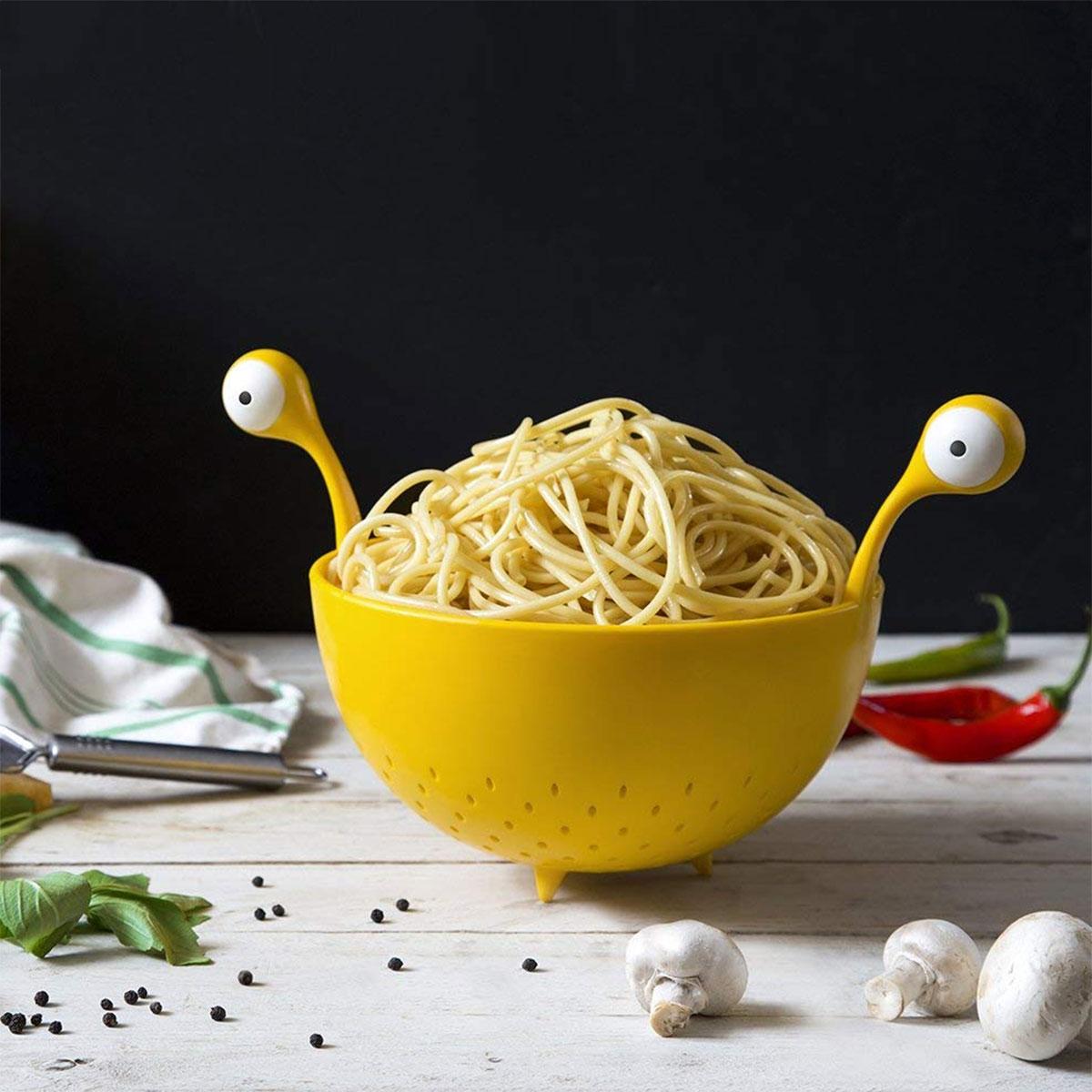 Fliegendes Spaghetti-Monster Nudelsieb
