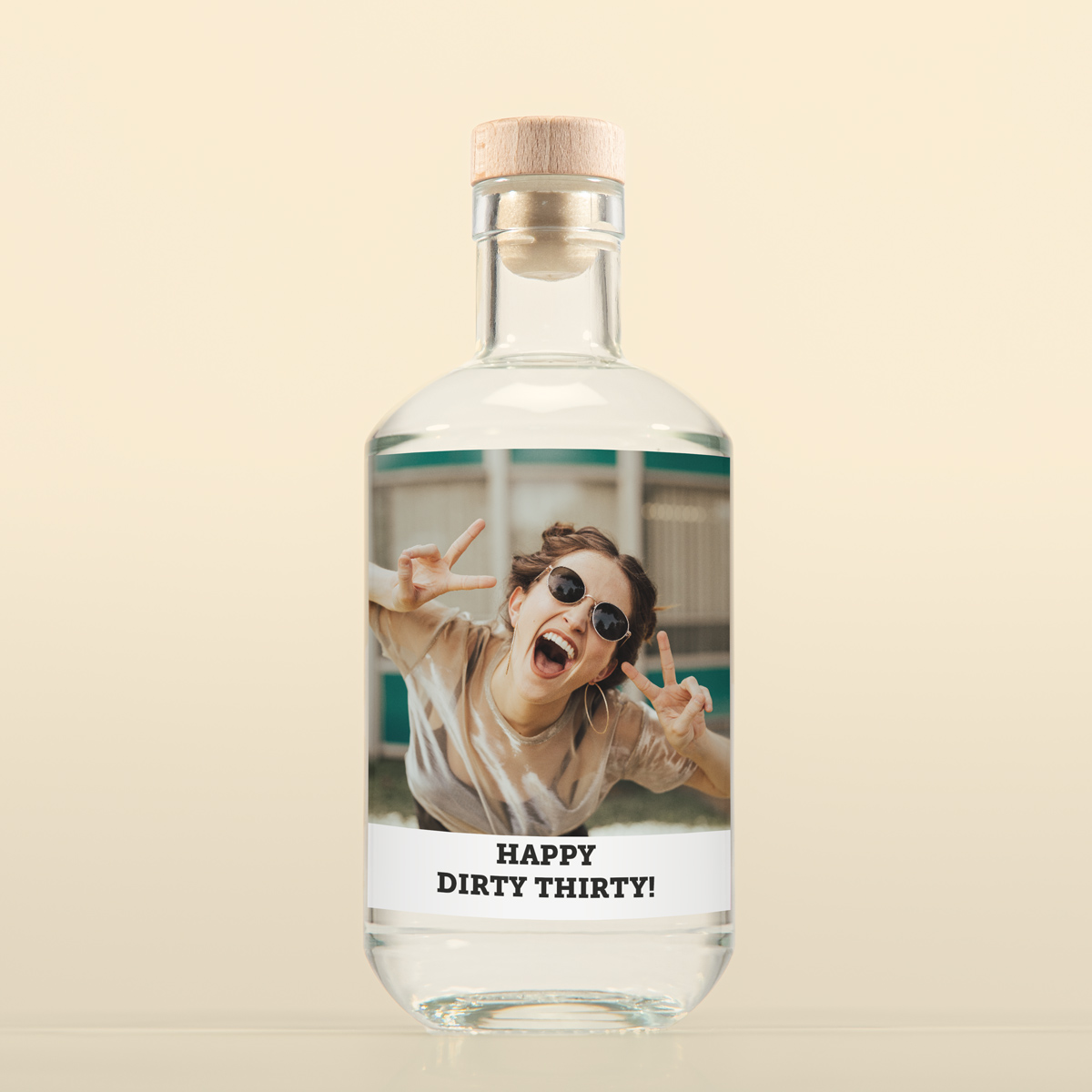 Geburtstagsgeschenke zum 30. personalisierbarer Gin