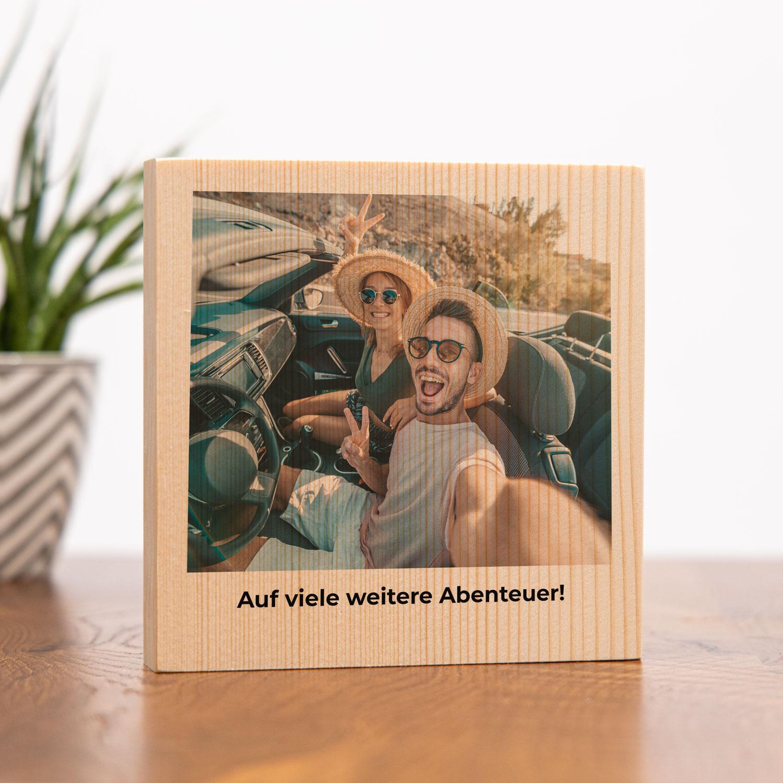 Geburtstagsgeschenke zum 30. Geburtstag personalisierbares Holzbild mit Foto