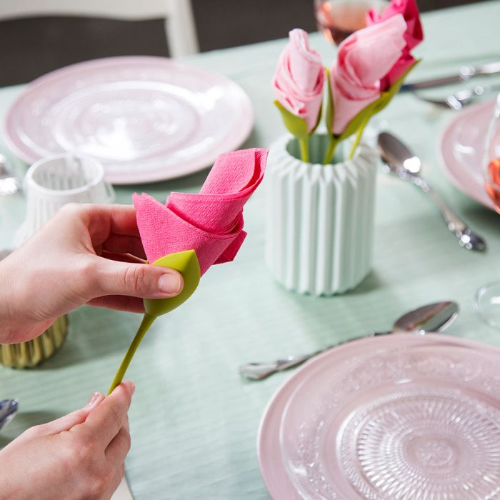 Bloom Serviettenhalter 4er-Set