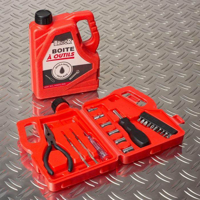Mini Werkzeugset im Kanister