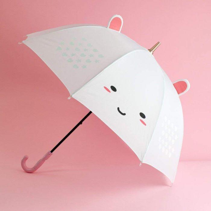 Elodie Einhorn LED-Regenschirm mit Farbwechsel