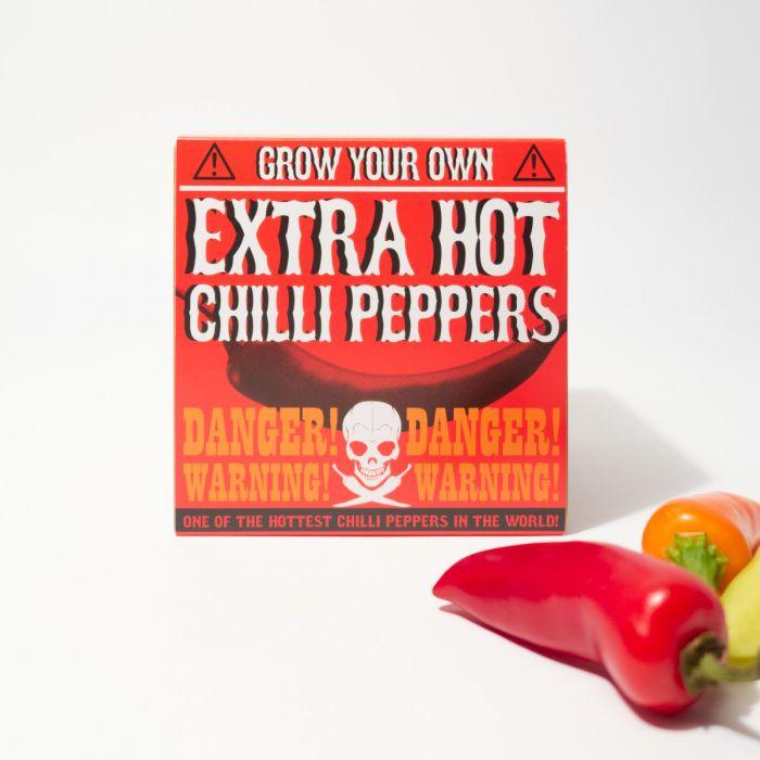 Extra Hot Chili zum Selberanbauen