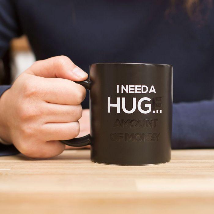 Wärmeempfindliche Tasse I Need A Hug