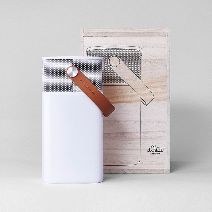 aGlow Lautsprecher-Leuchte mit Bluetooth