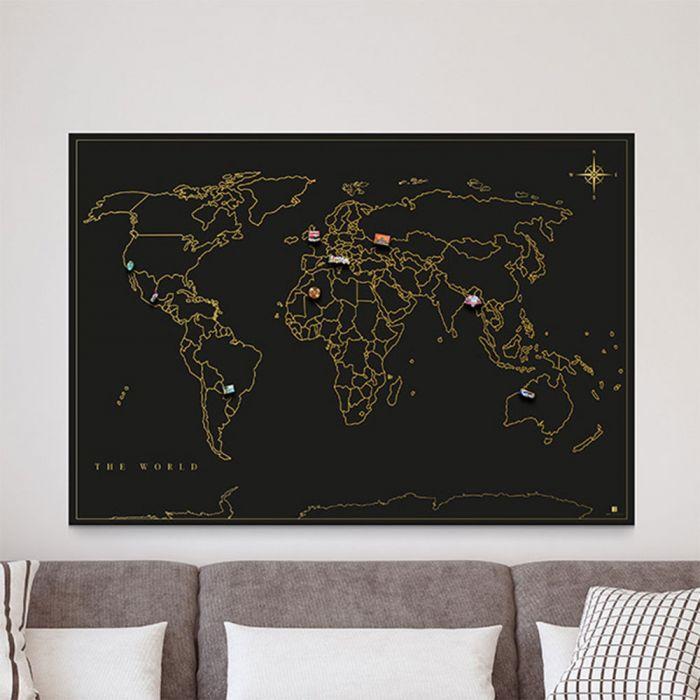 Magnet-Sammel Weltkarte