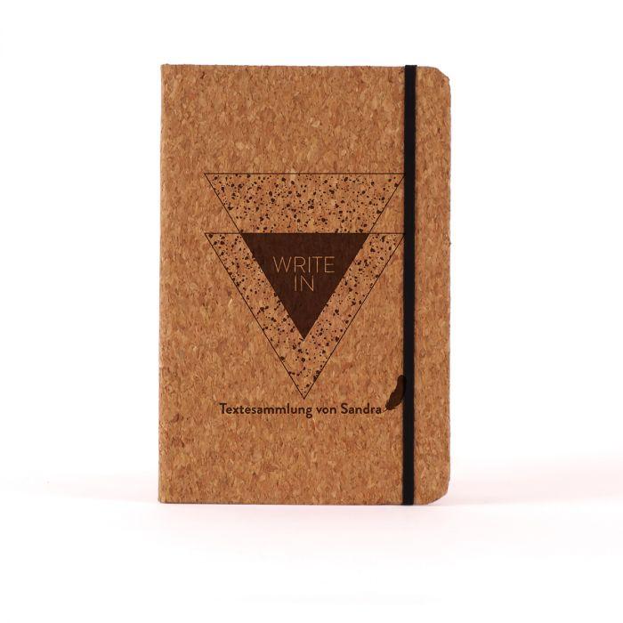 Personalisierbares Notizbuch Write In