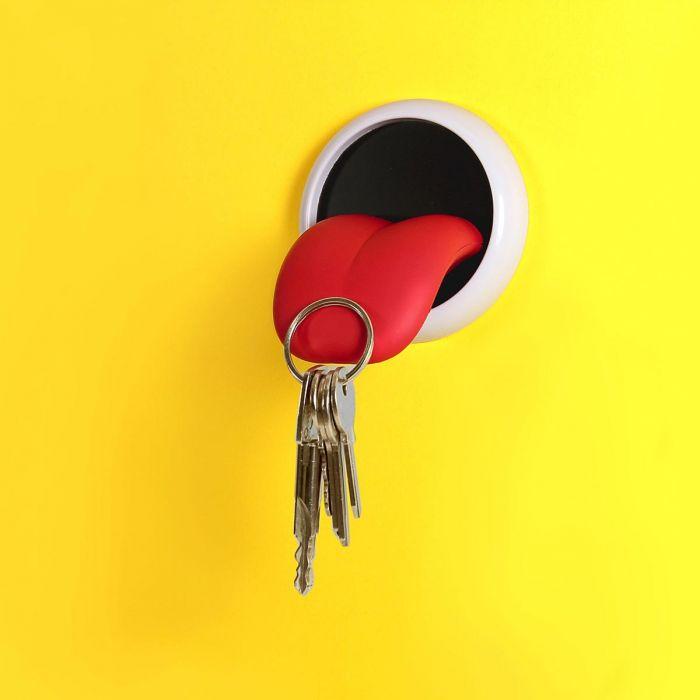 Magnetischer Schlüsselhalter Zunge