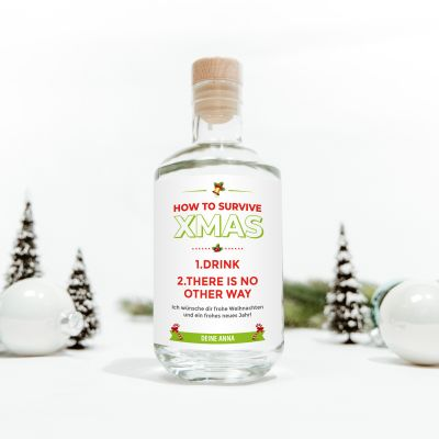 Gin How To Survive Christmas
