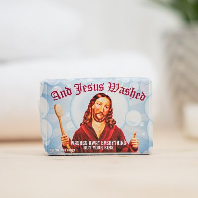 And Jesus Washed Seife