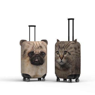 Kofferhülle mit Ohren Hund und Katze