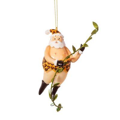Santa Tarzan Christbaumschmuck