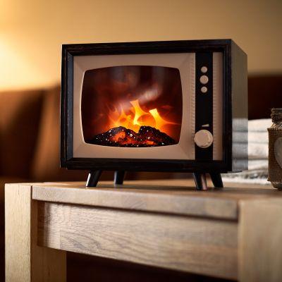 Elektrischer TV-Mini-Kamin
