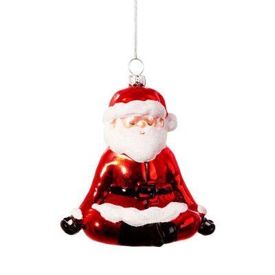 Santa Yoga Christbaumschmuck