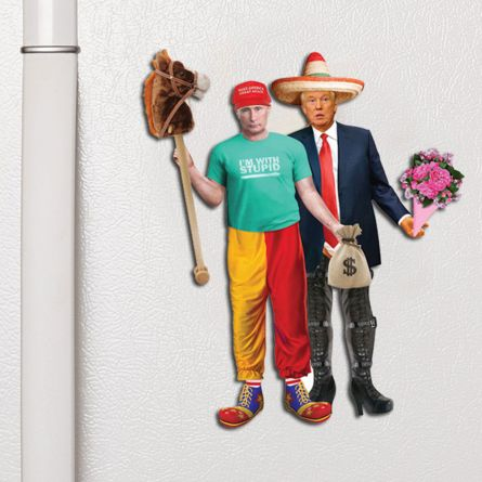 Trump & Putin Dress Up Magnete