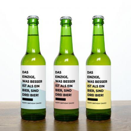 Bier Set mit 7 Zeilen
