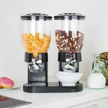 Doppelter Cerealien-Spender
