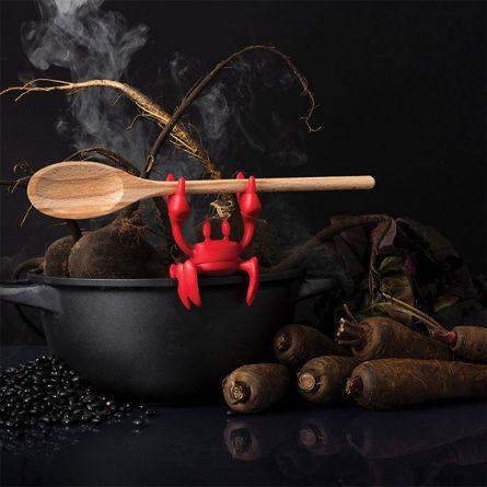 Rote Löffelhalter-Krabbe