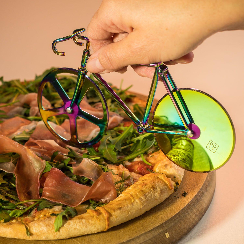 Fahrrad Pizzaschneider