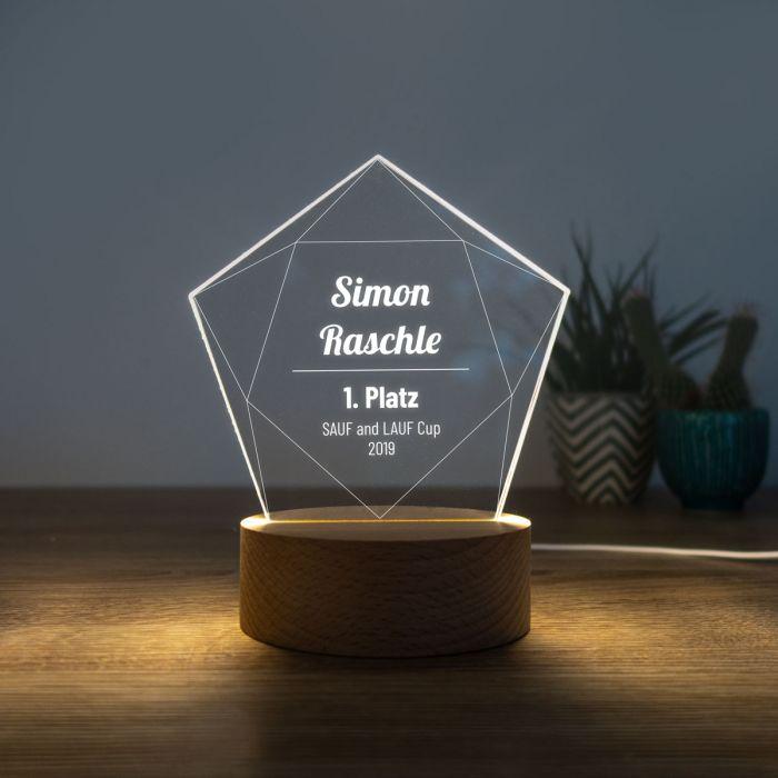 LED-Leuchte mit Stern