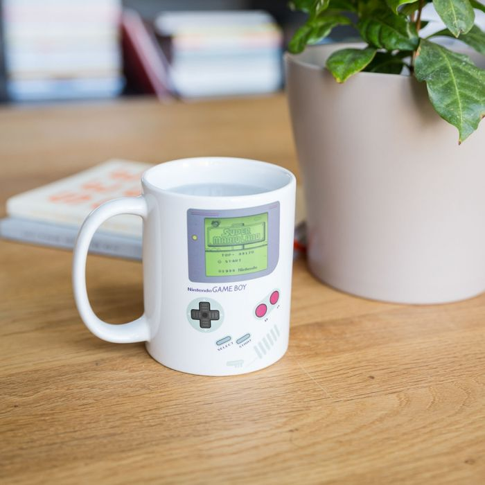 Temperaturempfindliche Game Boy Tasse