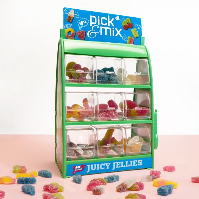 Pick & Mix Fruchtgummi-Dispenser