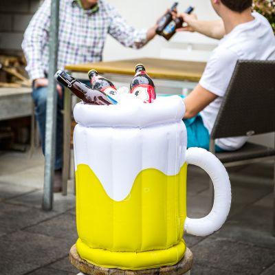 Festival-Gadgets - Aufblasbarer Bierkühler
