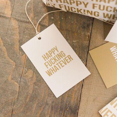 Witzige Geschenke - Grenzwertiges Geschenkpapier