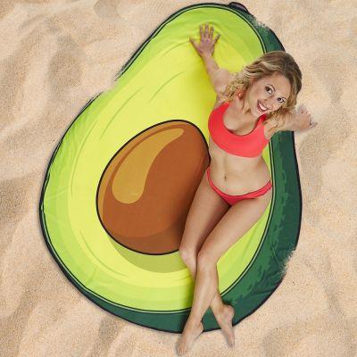 Strand & Wasser - Avocado Strandtuch