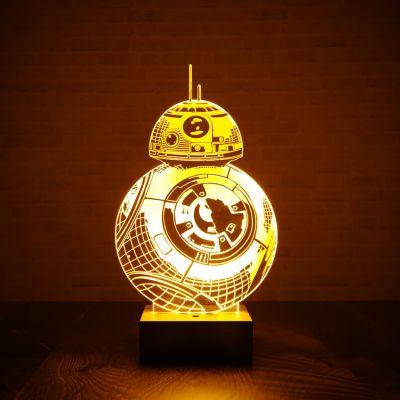 Geschenke für Bruder - Star Wars BB-8 Leuchte mit 3D-Effekt