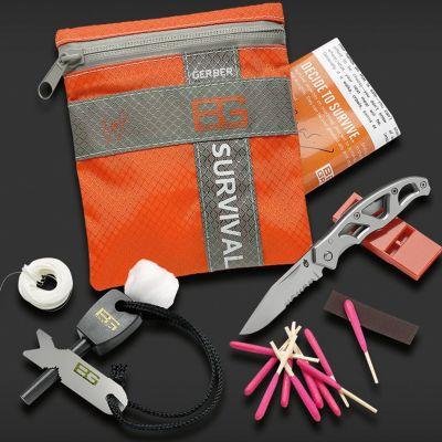 Geschenke für Männer - Bear Grylls Survival Kit - Überlebensset