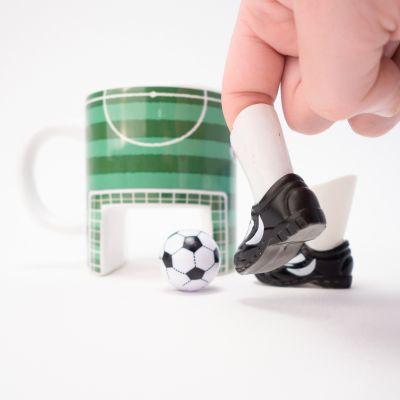 Spaß im Büro - Fußball Kaffeebecher
